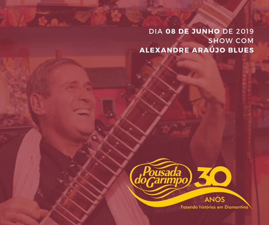 Alexandre Araujo Blues na Pousada do Garimpo