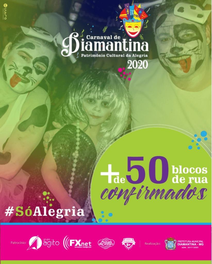 Carnaval Diamantina 2020