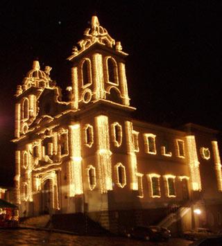 Catedral Diamantina no Natal