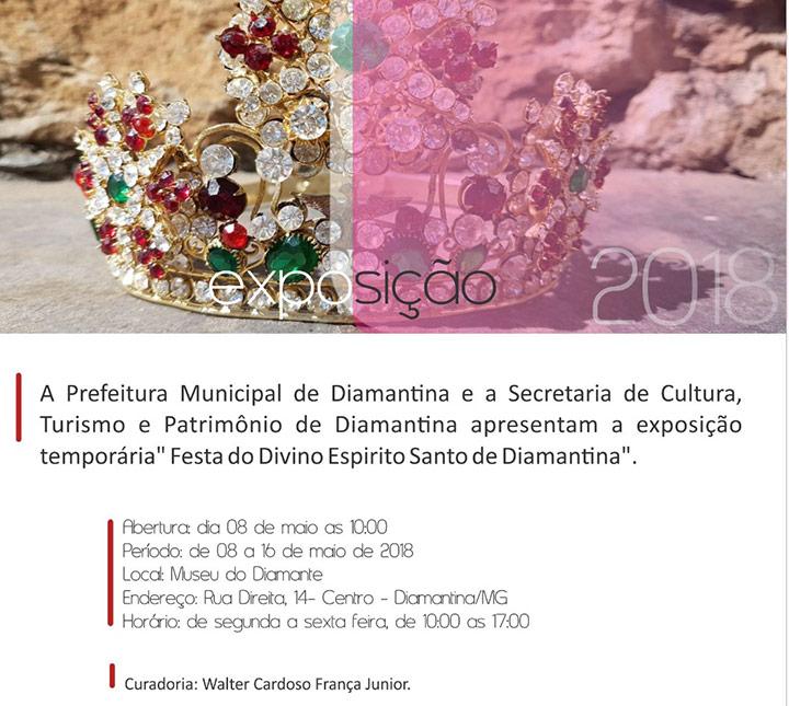 Convite Exposição Festa do Divino