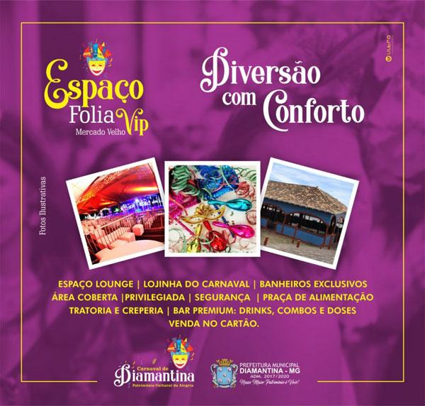 Espaço Folia Carnaval Diamantina 2019