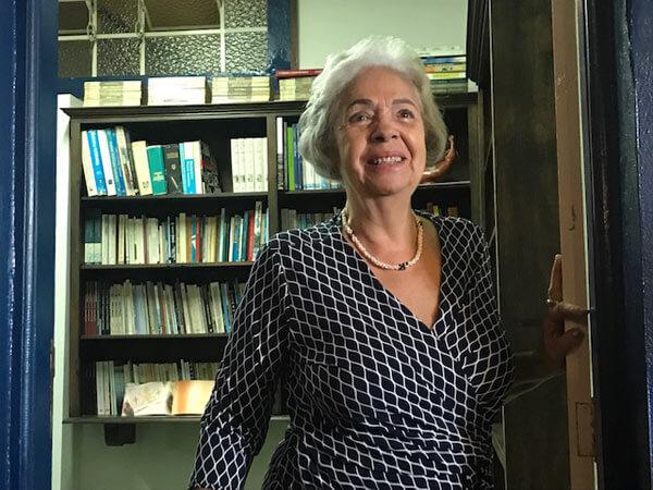 Vera Lúcia no Espaço Leitura Helena Morley