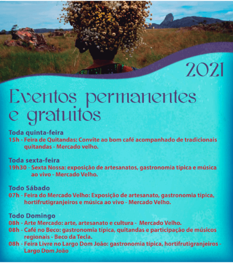 Eventos Permanentes Diamantina 2021
