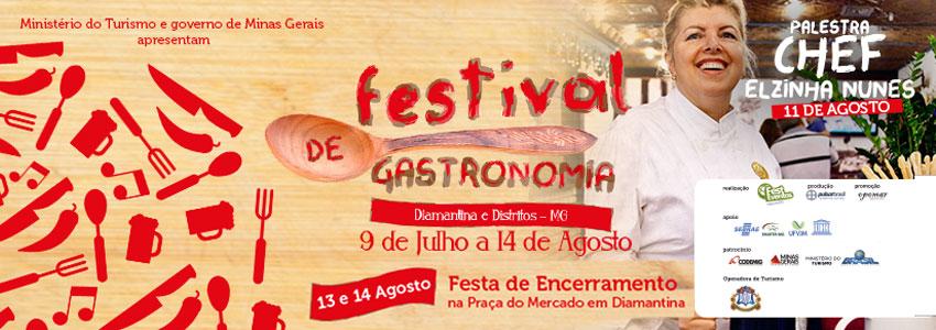 Festival de Gastronomia Diamantina e Distritos
