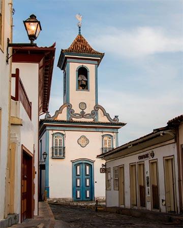 Igreja Nossa Senhora do Amparo Diamantina