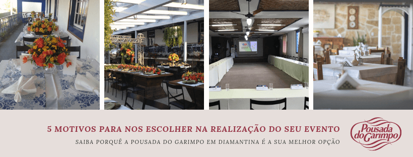 Eventos na Pousada do Garimpo