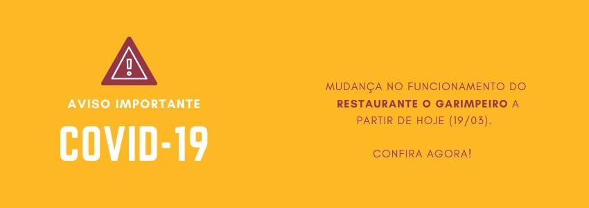 Funcionamento restaurante devido ao COVID19