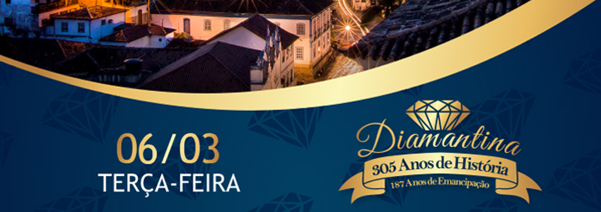 Diamantina 305 anos