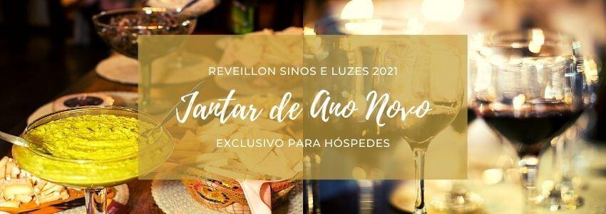 Jantar Ano Novo Reveillon Sinos e Luzes 2021