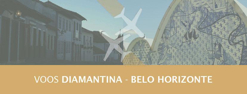Vôos Diamantina Belo Horizonte