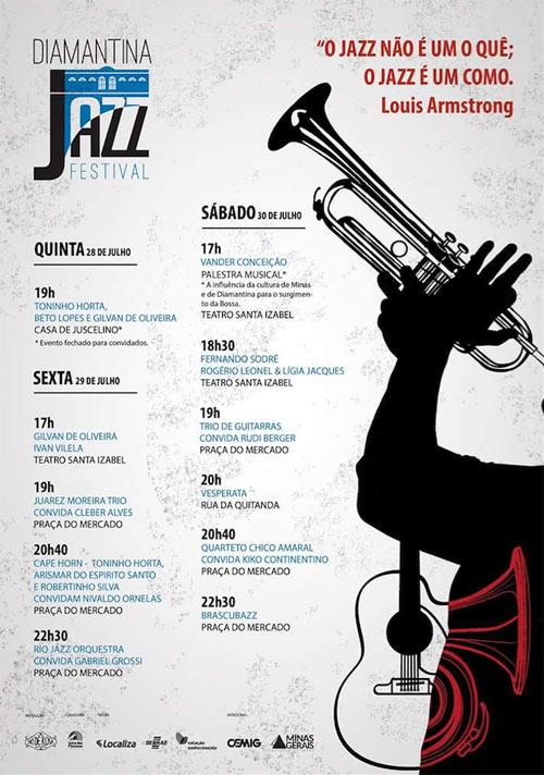 Diamantina Jazz Festival - Programação
